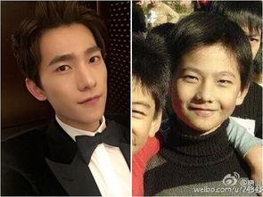 杨洋童年 微笑电眼 激帅 从小帅到大5男星