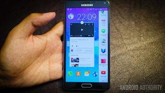 ...Galaxy Note 4(图片引自androidauthority)-英国人最喜欢的安卓智能...