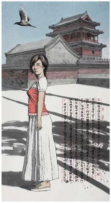 侯雅林国画作品选 34