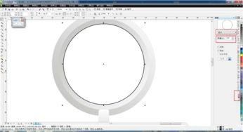 怎么使用cdr画放大镜并制作放大效果 使用cdr画放大镜并制作放大效果...