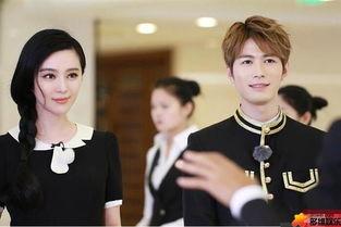 范冰冰酒店当服务员 穿女仆装上岗