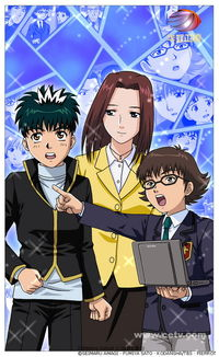 一至周五17:30-18:30,华娱卫视将播出日本人气动漫《侦探学园Q》....