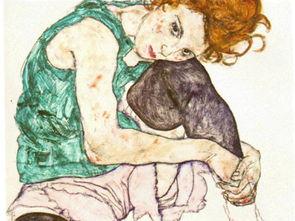 组图 生的欲望 死的威胁 埃贡 席勒作品欣赏
