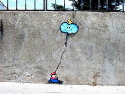 幽默又有想像力的街头创作图片
