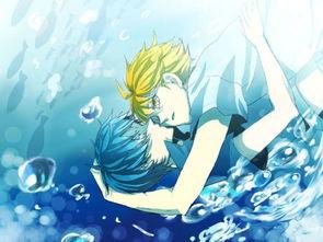 求在水里的动漫头像