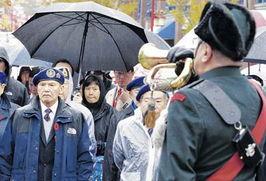 华裔退伍军人忆国殇日 吁华二代牢记历史