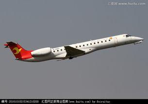 天津航空航班起飞,交通运输,科学技术,摄影,汇图网