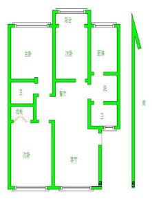 万家力推绿城花园太学路三实小附近准双气带全套家具家电