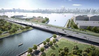 徐汇龙腾大道贯通工程新进展 淀浦河桥整体结构贯通