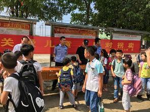 来宾 工业区分局深入学校举行 关爱妇女儿童 打击防范拐卖 主题宣传活动