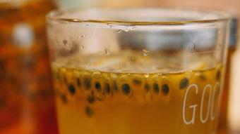 范爷同款的百香果柠檬蜜 简单粗暴的夏日美白饮品