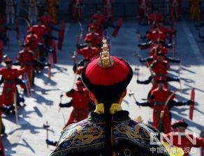 北京天坛祭天仪式 皇帝首次坐轿出席
