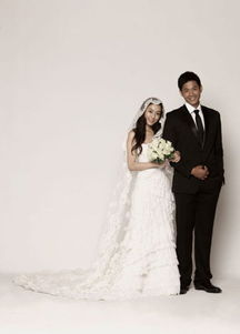 范玮琪黑人大婚将近 婚纱照透露甜美爱情