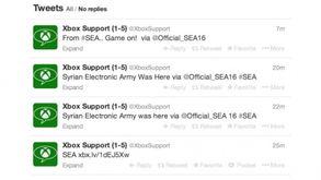 ...软Xbox官方Twitter帐号被叙利亚电子军 SEA 攻破