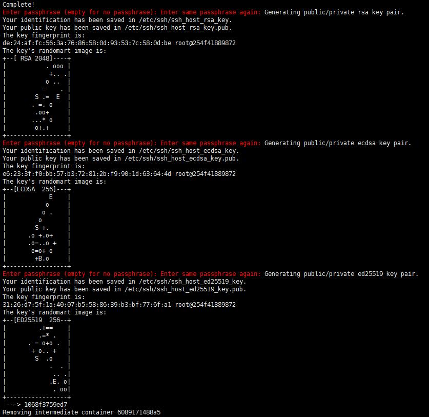 Dockerfile指令