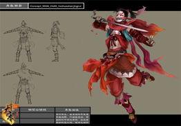 插图1:桃花山山贼的原画设定-写实是亮点 大宋 怪物原画曝光