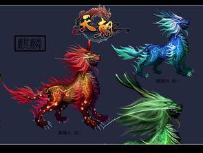 中的一种动物,与凤、龟、龙共称为