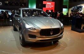 法兰克福车展亮相的玛莎拉蒂Kubang-玛莎拉蒂SUV将亮相底特律 与大...