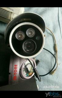 4路监控摄像头硬盘录像机一套