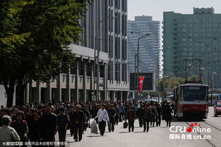揭秘最真实镜头下朝鲜的街头巷尾 高清组图