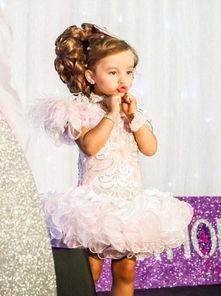 英国TLC电视台最近推出了一部关于小女孩选美的纪录片《选美小皇后...