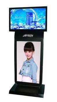 立式广告机 UNCCR双屏液晶广告机价格及规格型号