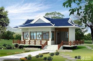 国内新农村10万小别墅设计效果图