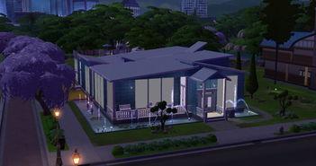 模拟人生4现代风格水景后宫mod下载