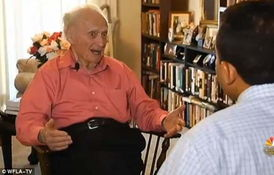 美101岁老人宣布竞选参议员 不在乎被人当 傻瓜