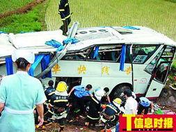 深圳,号牌为粤MX2412的大巴在行经河惠高速博罗村出口,突然撞上...