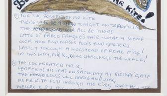 ...手写歌词(图片来源:朱利安拍卖行)-约翰 列侬单张手写歌词拍出...