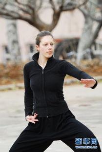 12月4日,马琳在练习太极拳.-组图 压腿 练单操 一个法国女孩的太极梦