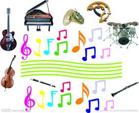 音符乐器图片