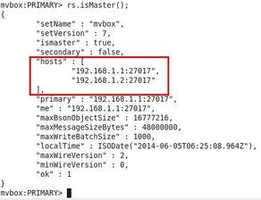mongo查看集合大小-并且rs.conf()显示该节点状态为hidden   7 设置仲裁节点   仲裁节点...