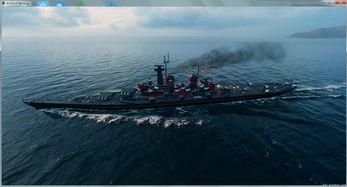 ...中的那一抹红 战舰世界蒙大拿级涂装