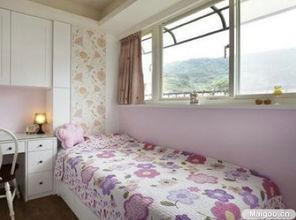 有房色一级片吗-卧房各有特色,利用饰以不同色马赛克的门片外观,示意男孩与女孩房...