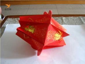 元宵节红包灯笼制作方法简单图解教程图片大全