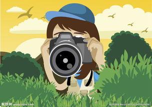 卡通风格野外摄影图片