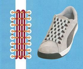 鞋带打结的5种方法