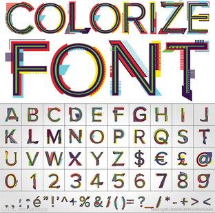 V形字母标志设计