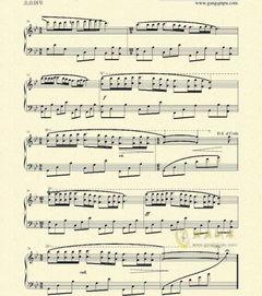 梦中的婚礼的电子琴简谱