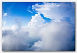 天白云 俯瞰是飘渺人间 作一次逍遥游 诵一遍道德经 幸福指数超过了62...