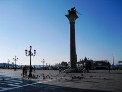 夜幕降临 威尼斯