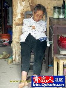 睡觉的中国人 外国人眼中的我们有多累