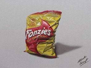 超品全才-这次佳作赏析带来意大利艺术家Marcello Barenghi的细腻彩铅绘画.这...