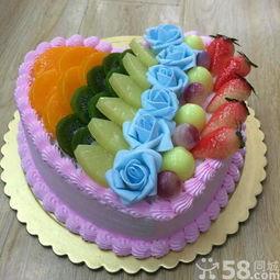 长沙生日蛋糕免费送货上门个性创意生日蛋糕来图订做
