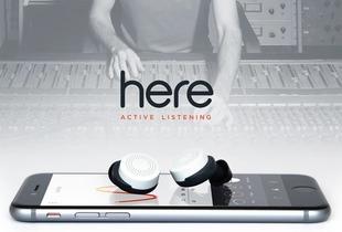 RE是一个无线交换听力系统,用户只需要用两个无线耳塞和启动配备...