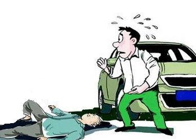六旬大爷拄拐横穿马路 被莽撞小伙儿撞飞身亡
