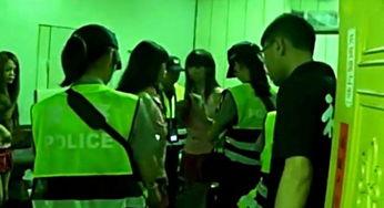 台湾色情KTV藏身公墓旁 警察扫黄抓获2女3男