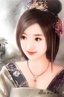 ...时代魏国,魏国王宫中一名叫莫琼树的宫女所梳的发型,发质是古代...